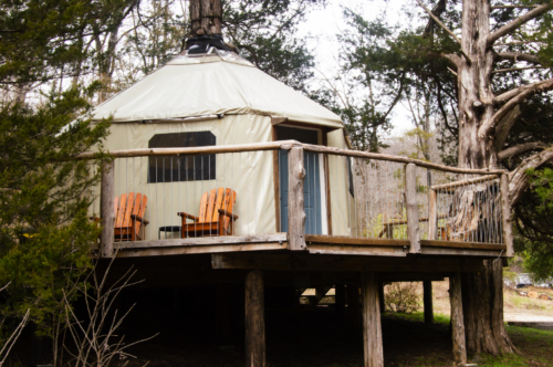 20190324 - Lost Valley AR - Tree house 04